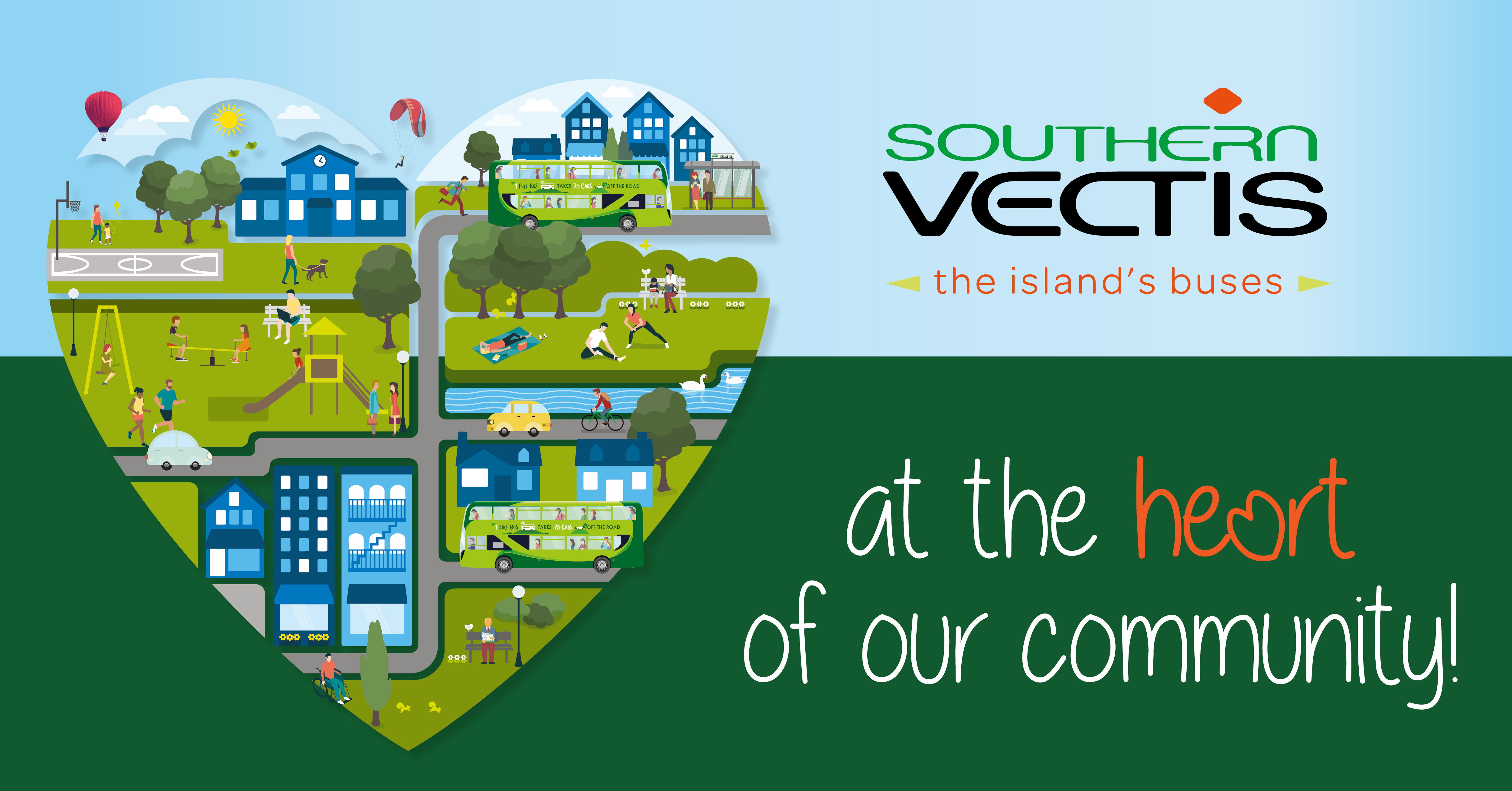 Southern Vectis at the heart of our community
