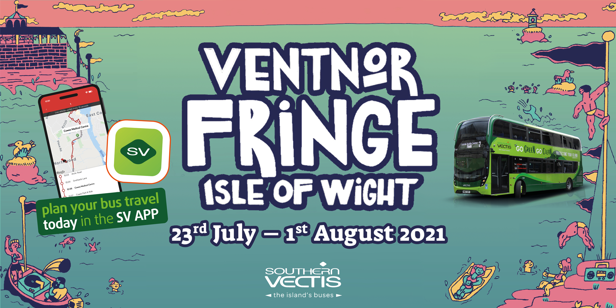Ventnor Fringe Isle of Wight 23rd July - 1st August 2021