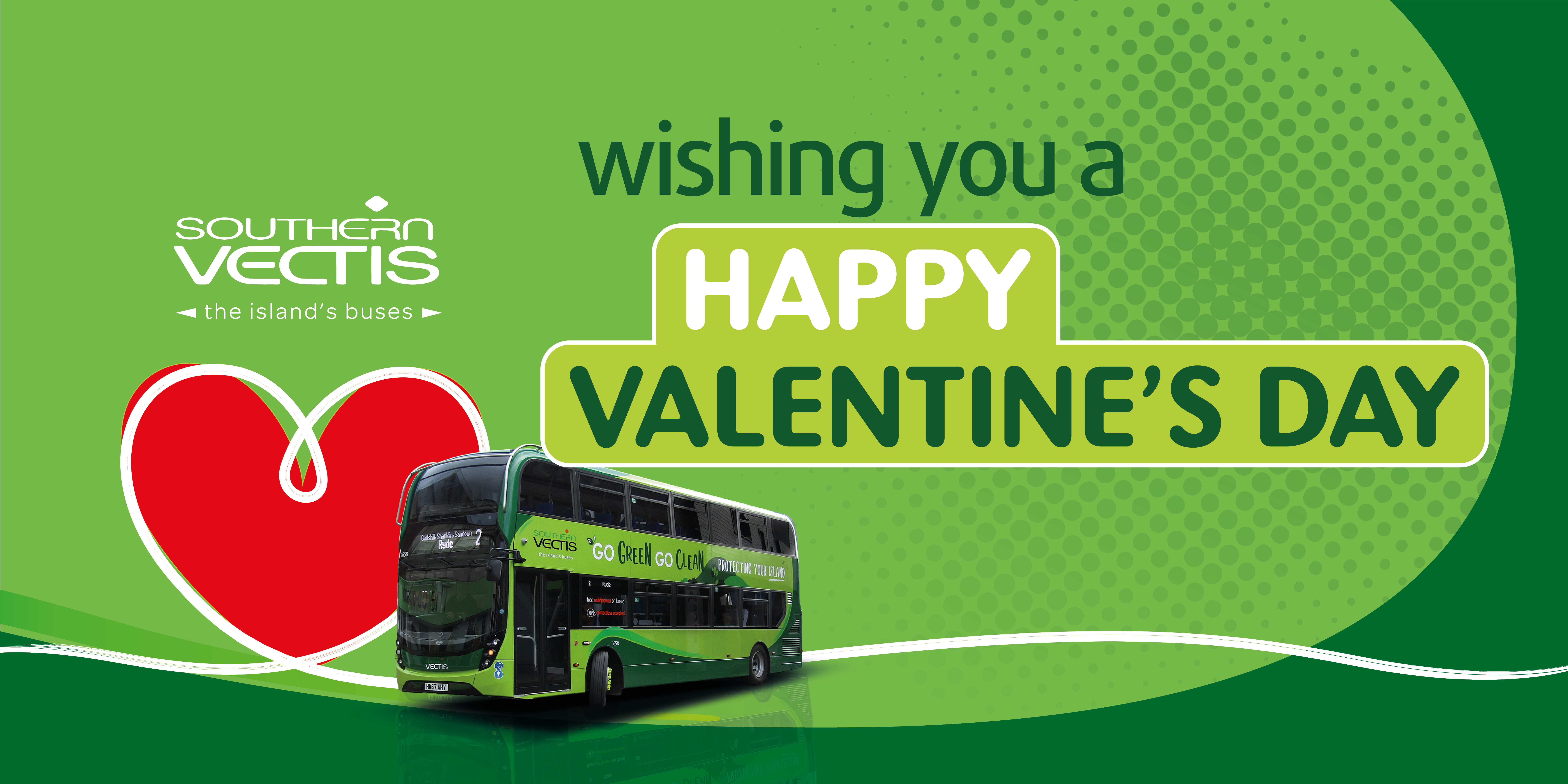 Wishing you a happy valentines day!